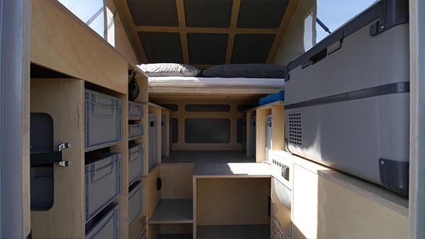 Dein Shelter für Abenteuer! Der Innenraum der PUREOne.