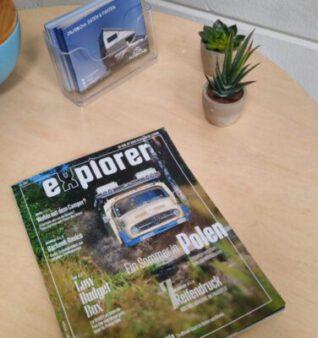 PURECAB im Explorer Magazin!  Testbericht auf Youtube